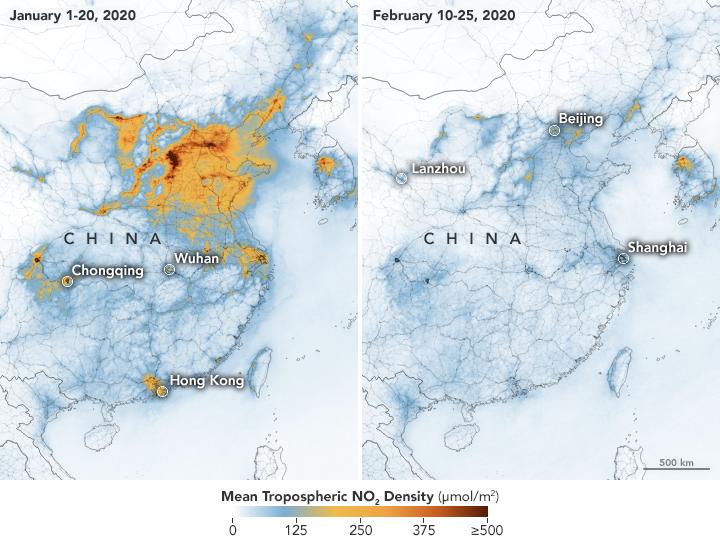 El Impacto Humano sobre el Medioambiente y el Coronavirus