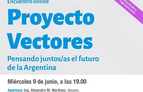 Proyecto Vectores: pensando juntos/as el futuro de la Argentina